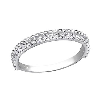 Eternity - 925 Sterling Silver Jewelled Rings - W30519x