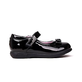 Miss Fiori Kids F Mj Bow Girls Infants Children School Formal Shoes Footwear