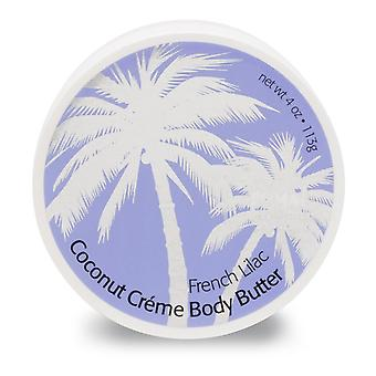 Primal Elements Coconut Creme Body Butters French Lilac 300ml