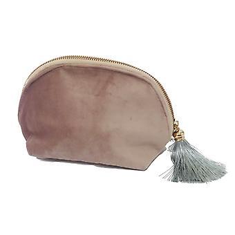 Victoria's Design Necessär sammet rosa 21cm