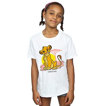 Disney Girls The Lion King Simba Pastel T-Shirt