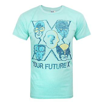 Junk Food X-Men Your Future Men's T-Shirt Green