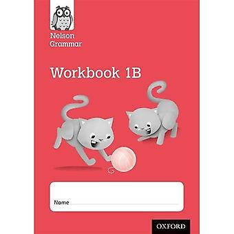 Ny Nelson grammatik arbetsbok röd B