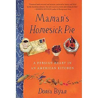 Pie le mal du pays de maman: un cœur persan dans une cuisine américaine