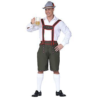 Mens Bavarian Oktoberfest Fancy Dress Costume