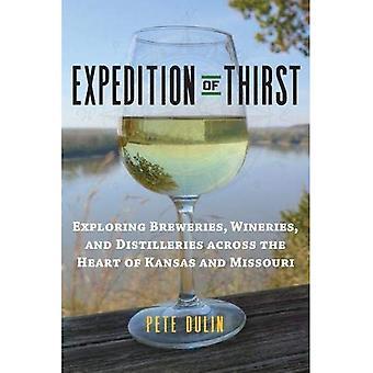 Expeditie van dorst: brouwerijen, wijnhuizen en distilleerderijen verkennen in het hart van Missouri en Kansas