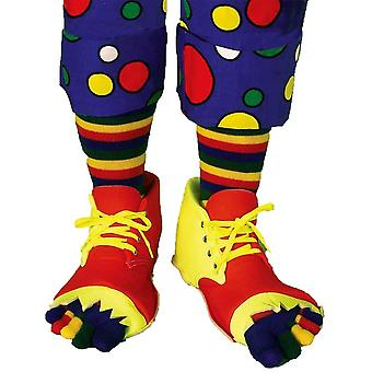 Scarpe da clown e Toe calzino Set