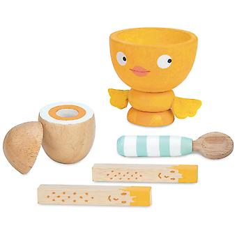 Le Toy Van Honeybake Play Egg Cup & Soldiers