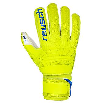 Reusch Fit Control SG Finger Support Mens målvakt handske Lime