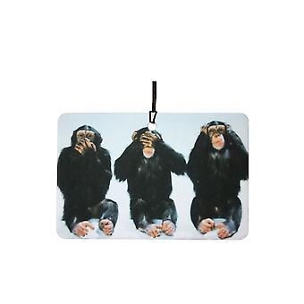 El ambientador de aire de tres monos sabios
