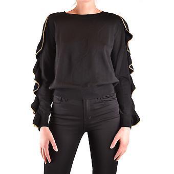 Filosofia Por Lorenzo Serafini Ezbc087041 Women's Black Wool Sweater