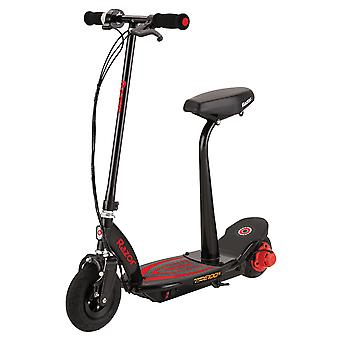 Razor Power Core E100S Seated Electric Scooter Red Ages 8 Years +