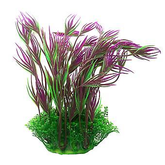 Betta Choice Purple & Green Plastic Plant 20cm