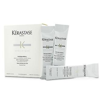 Kerastase Specifique Masquargil Deep Clarifying Clay Mask (scalp And Hair) - 20x10ml/0.34oz