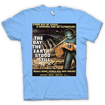 Womens T-shirt-der Day The Earth Still – B-Movie Stood