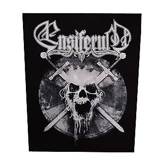 Ensiferum Skull Woven Back Patch