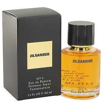 Jil sander #4 eau de parfum spray por jil sander 414418 100 ml