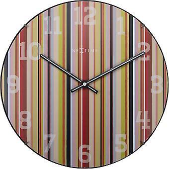 Nextime vegg klokke 35 Cm (dekorasjon, klokker)