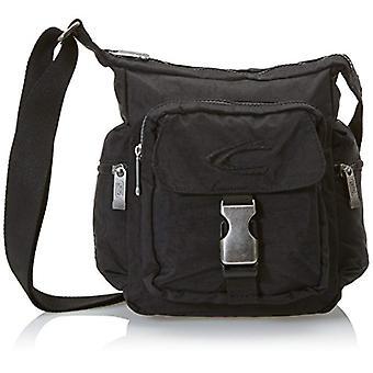 Camel Journey Black shoulder bag (schwarz) 20x10x24