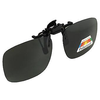 Män solglasögon och solglasögon Ladies Polaroid Clip på - GroenS377_2