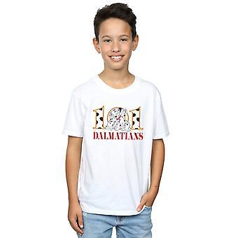 Disney jongens 101 Dalmatiërs Puppy knuffel T-shirt