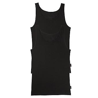 "Sloggi 24/7 2-Pack Vest Black, X-Large (46"")"