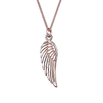 Elli Necklace with Women's Pendant in Silver - Rose Gold Plate - 45 cm 0110720914_45