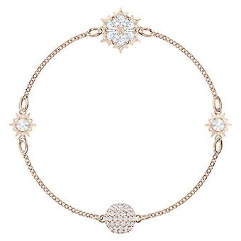 Swarovski Bracelet Braided Woman Plated_Gold - 5512038