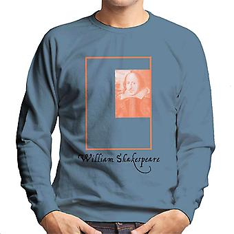 P.g. H William Shakespeare Box portrett menn ' s Pullover