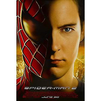 Spiderman 2 (Double Sided Regular Reprint) (Uv Coated/High Gloss) Reprint Poster