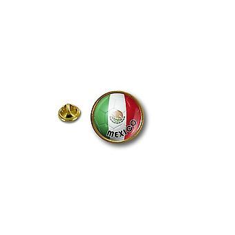 Pine PineS PIN rinta nappi PIN-apos; s Metal biker biker lippu ilma pallo jalka Meksiko