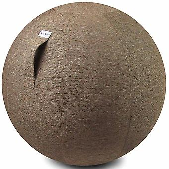 Vluv Stov stof stoel bal diameter 60-65 cm macchiato / lichtbruin