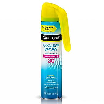 Neutrogena cool dry sport sunscreen spray, spf 30, 5 oz