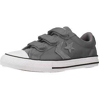 Converse Star Player 3v Ox Color Coolgrey Schuhe