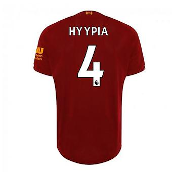 2019-2020 Liverpool Home Football Shirt (HYYPIA 4)