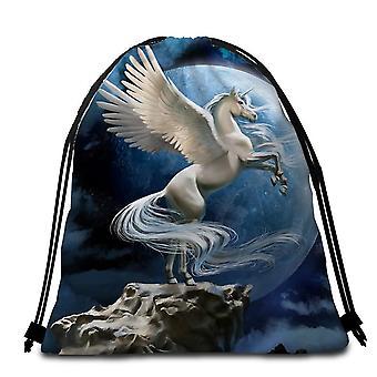 Maan Unicorn strandlaken