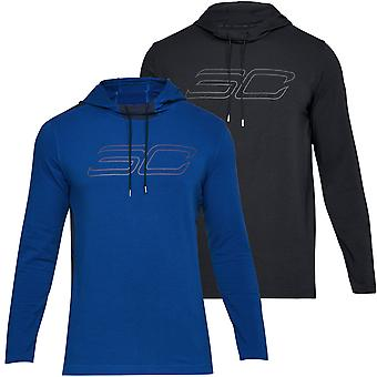 Under Armour Mens SC30 Lange Mouw Steven Curry Hooded T-shirt