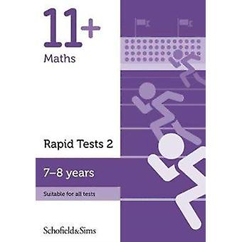 11 Maths Rapid Tests Book 2 Year 3 Ages 78