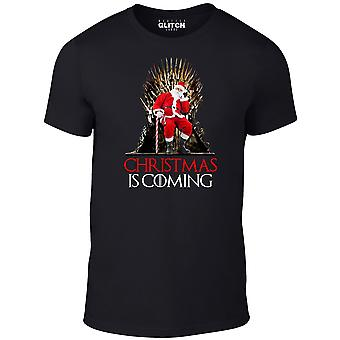 Men's christmas is coming t-shirt