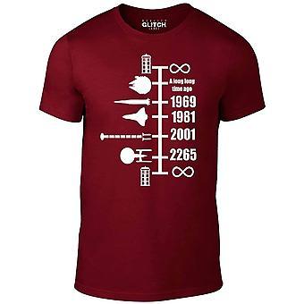 Men's Raumschiff Timeline T-shirt