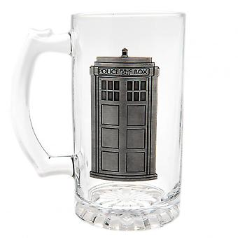 Doctor Who Stein Glass Tankard