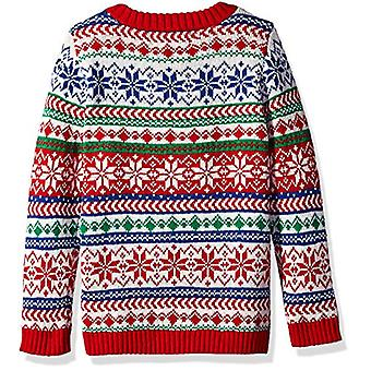 Blizzard Bay Boys Ugly Christmas Sweater Snowman, Blue red Multi, L 6