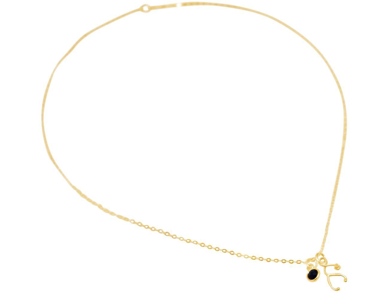 Halskette Stethoskop EKG Puls, Herzfrequenz: Arzt, Biologie 925 Silber - Saphir