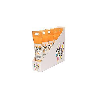 Farve splash gel-orange-25g X 5