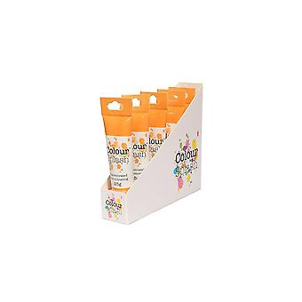 Colore Splash Gel - Arancione - 25g X 5