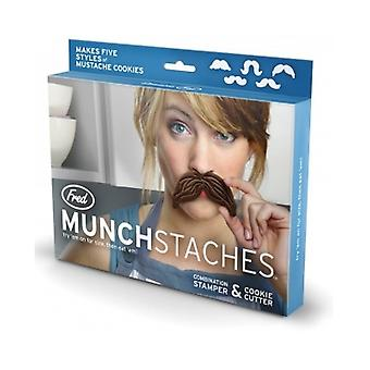 Fred Munchstaches Cookie Cutter