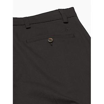 Dockers Men's Classic Fit Easy Khaki Pants D3, Black (Stretch), 33 29