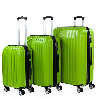 Itaca Double Wheel Ed Travel Set Made with High Resistance Polypropylene