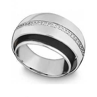 КВИНН - Кольцо - женщины - Белое золото 585 - Top W. (G)si. - Ширина 56 - 6217406