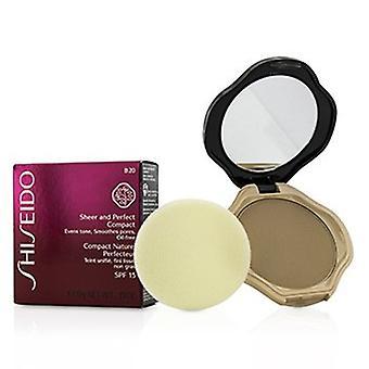 Shiseido Schiere & Perfekte kompakte Stiftung Spf15 - #b20 natürliche Licht Beige 10g/0,35 Unzen